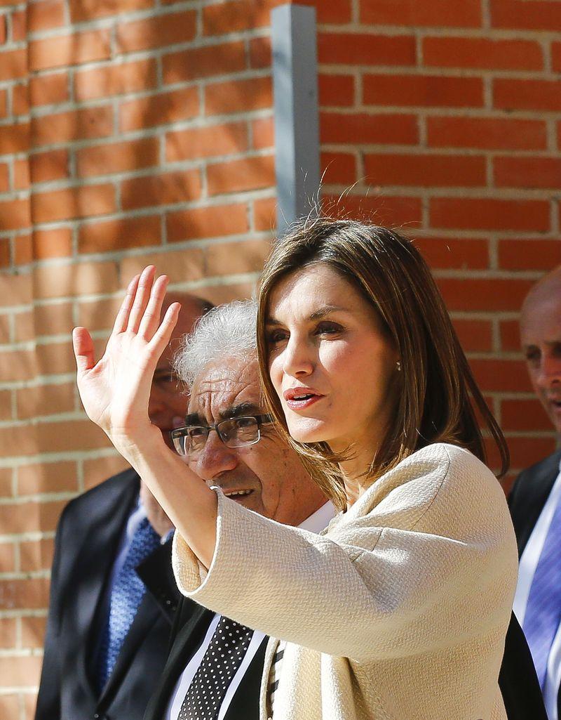 Образ дня: элегантная королева Летиция покоряет стилем на церемонии Foundation Girona Princess Awards