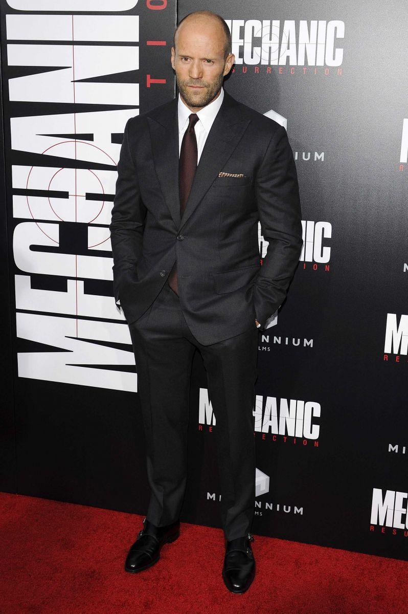 Вчера вечером в Голливуде состоялась мировая премьера популярного фильма «Механик: Воскрешение» (ФОТО)
