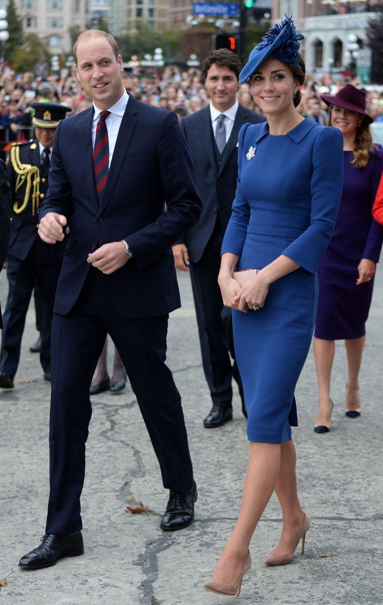 Кейт Миддлтон покорила изысканным стилем во время визита в Канаду (ФОТО)