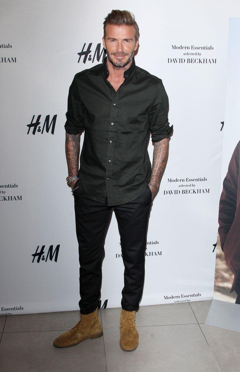 Дэвид Бекхэм снялся в комедийной рекламе для HM (ФОТО)