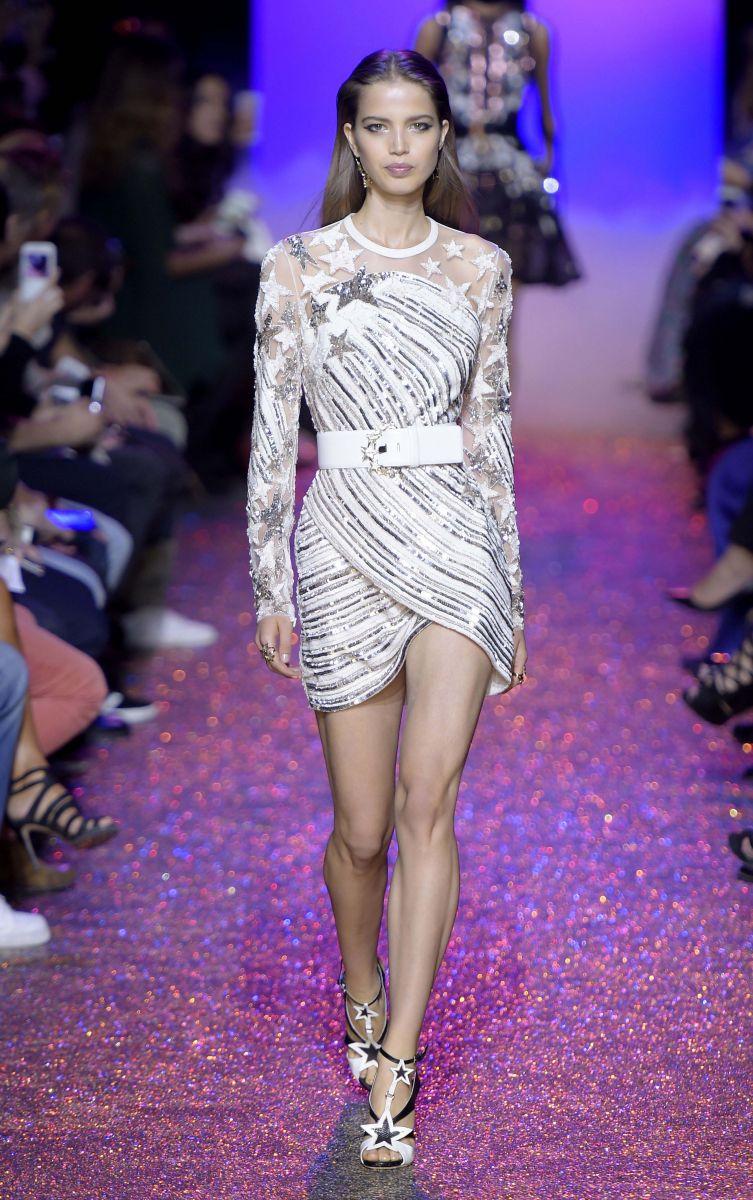 10 лучших платьев с показа Elie Saab в Париже (ФОТО+ВИДЕО)