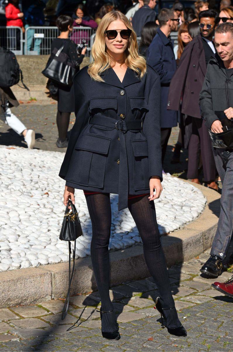 В чем пришли Лена Перминова, Сара Сампайо, Анна Делло Руссо и другие на показ Miu Miu в Париже (ФОТО)