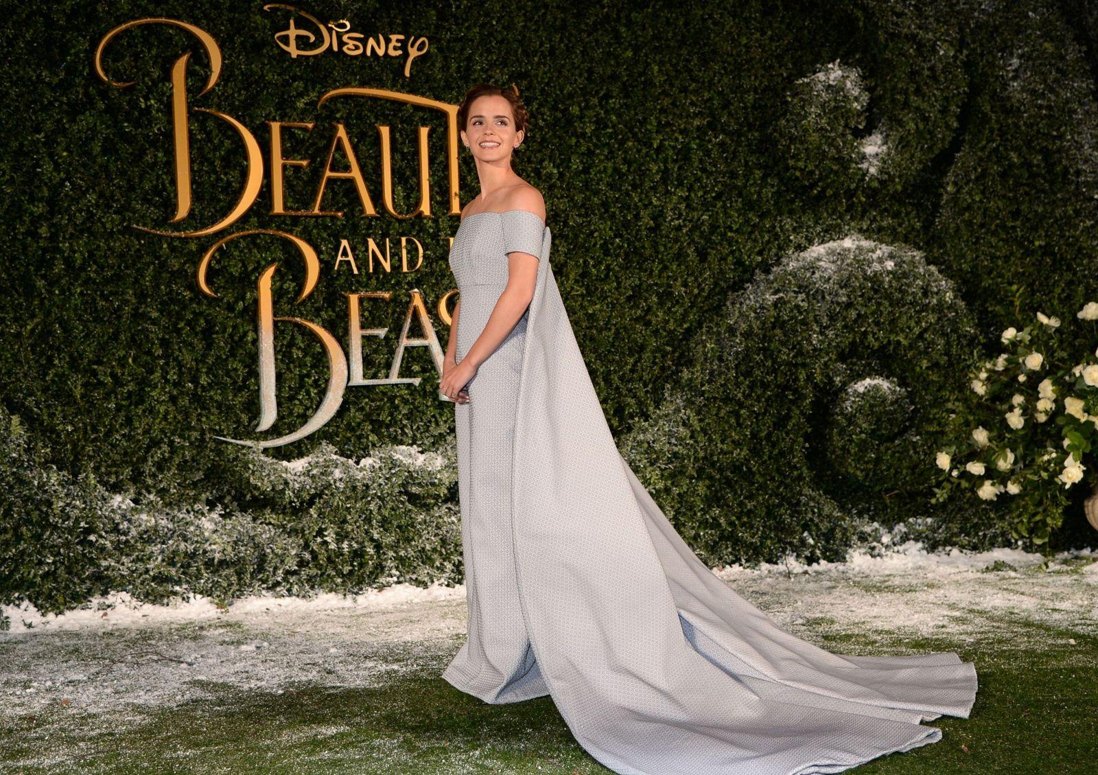 Эмма Уотсон покорила изысканным образом на премьере фильма Красавица и чудовище