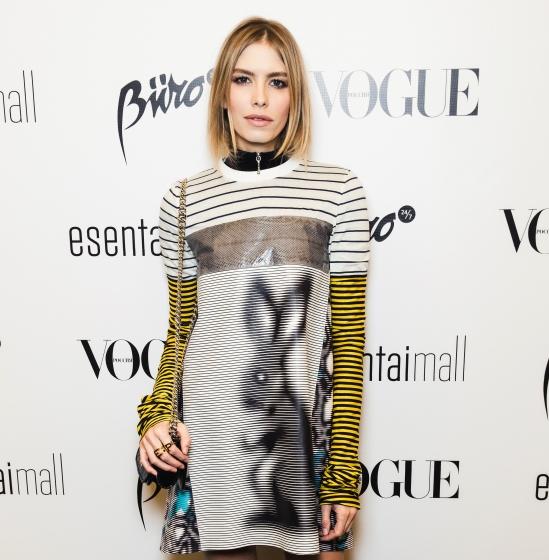 Образ дня: Елена Перминова в Prada на Vogue fashion night в Алама-Ата