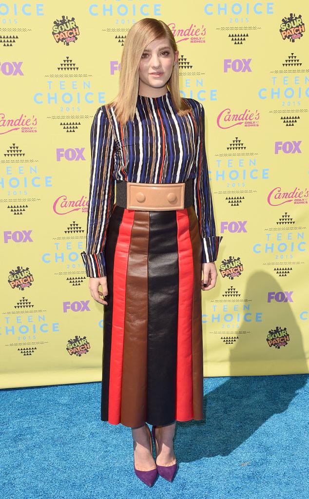 Teen Choice Awards 2015 красная дорожка фото