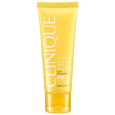 Солнцезащитный крем для лица от CLINIQUE SPF 50