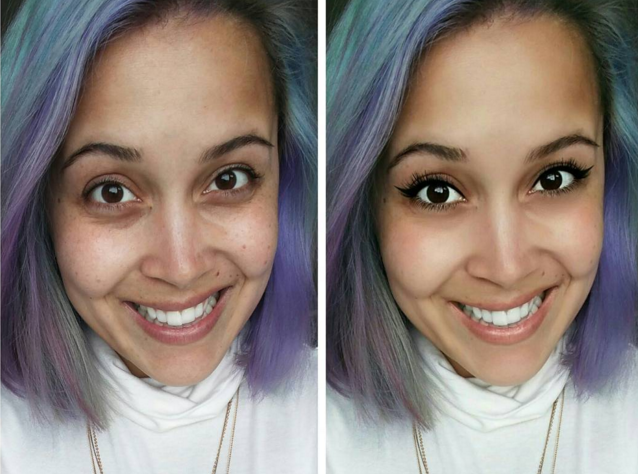 Instagram - обман: девушки показывают свои фото до и после обработки в приложении