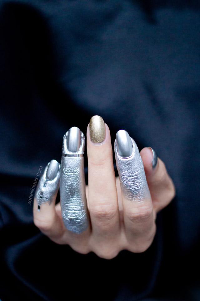 Маникюр с показа Vivienne Westwood осень-зима 2016 фото