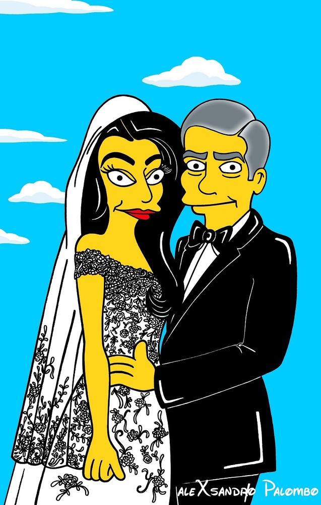 Жена Джорджа Клуни стала мультяшным героем