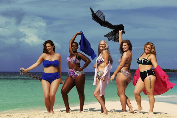 К пляжному сезону готова: пышные модели призвали девушек не стесняться своего тела