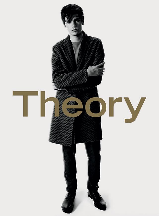 Копия отца: Сын Алена Делона стал лицом Theory (ФОТО)