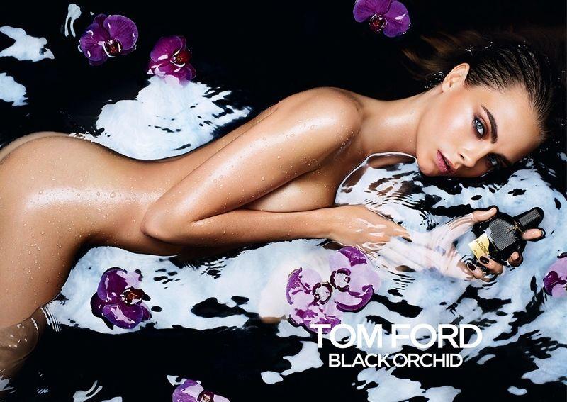 Скандальный аромат: Кара Делевинь полностью обнажилась для Tom Ford