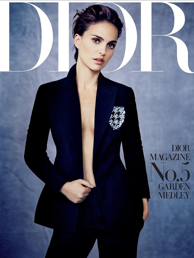 Натали Портман на обложке журнала Dior Magazine Spring 2016