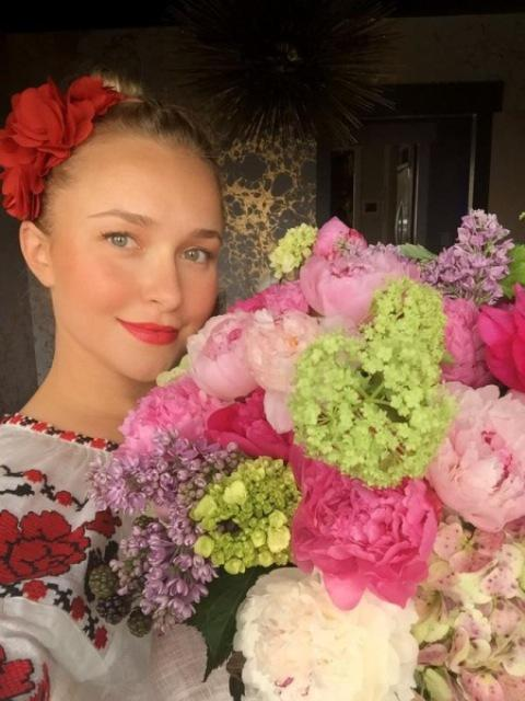 Фотофакт: Хайден Паннетьери превратилась в украинку