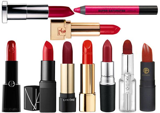 5 важных правил для макияжа с красной помадой
