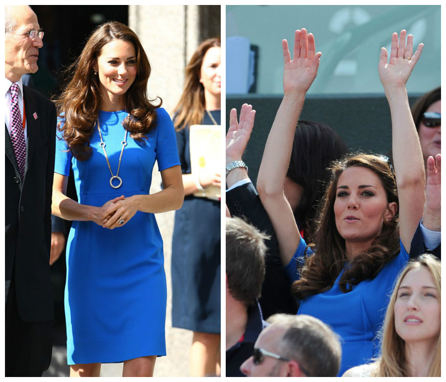 Кейт Миддлтон в одинаковых нарядах фото