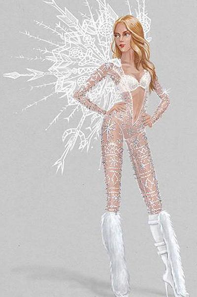 Ты должна это видеть: первые эскизы костюм ангелов для шоу Victorias Secret 2015