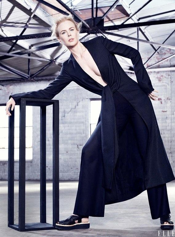 Николь Кидман показала идеальную внешность без макияжа
