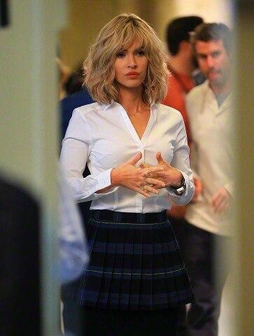 Фотофакт: Меган Фокс превратилась в роскошную блондинку