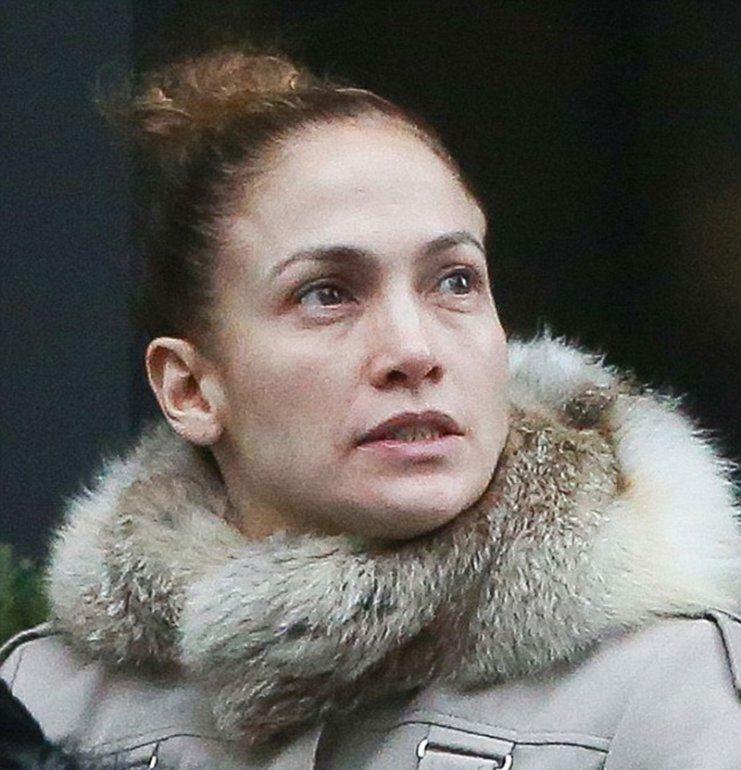 Дженнифер Лопес шокировала лицом без макияжа
