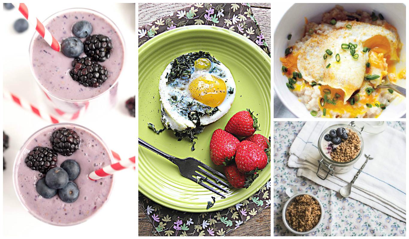 рецепты быстрых и полезных завтраков фото