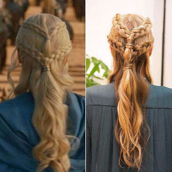 Прически Дейнерис: как сделать косы как у Матери Дракоов из