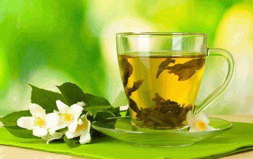 Зеленый чай полезен для кожи лица