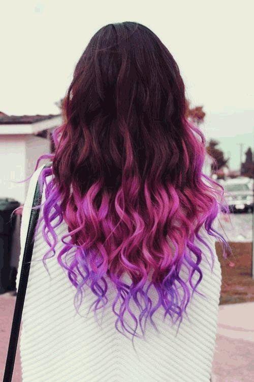 ламинирование цветное фото волос