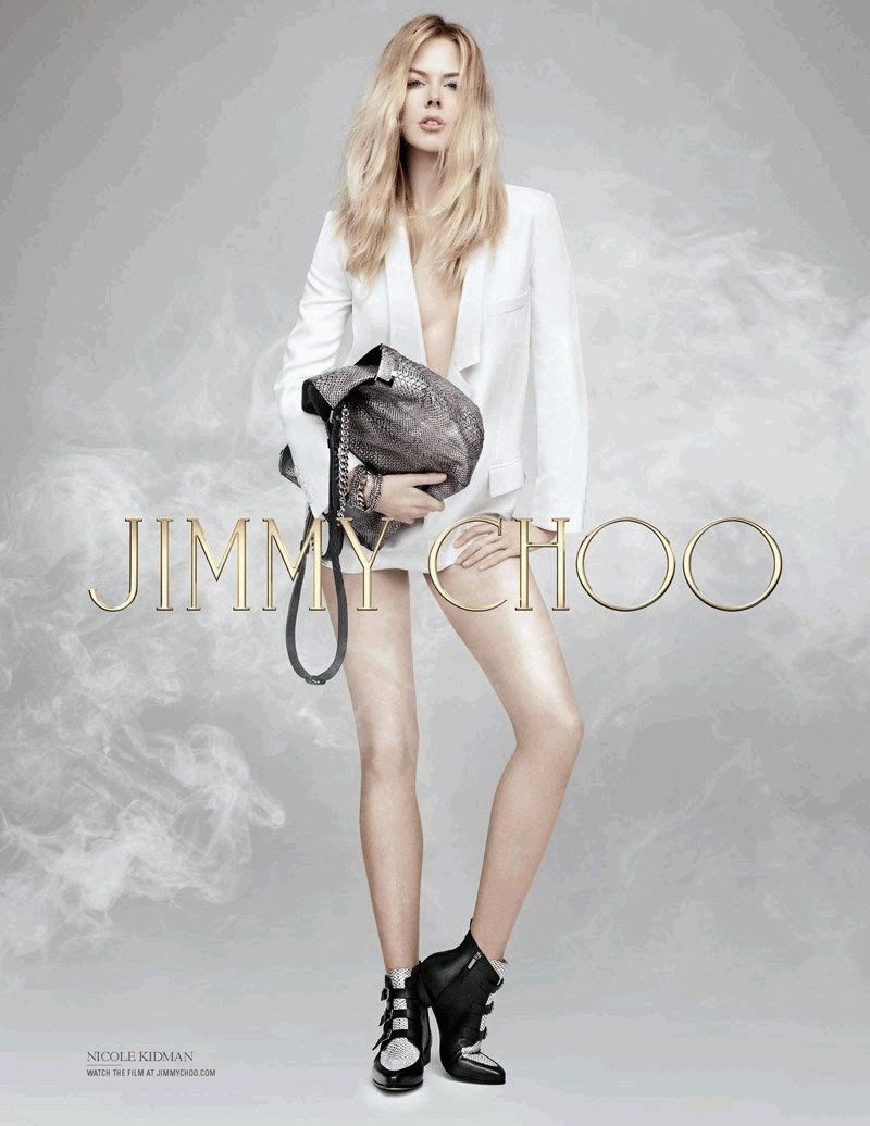 Николь Кидман в бунтарском образе для Jimmy Choo