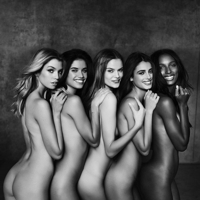 The new victoria's secret angel go nude for first photo shoot