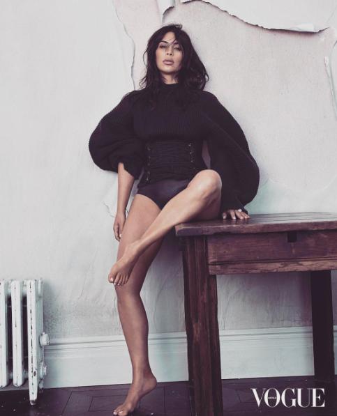 Нет, не пластика: Ким Кардашьян рассказала в чем секрет ее тонкой талии Ким Кардашьян фото, Ким Кардашьян