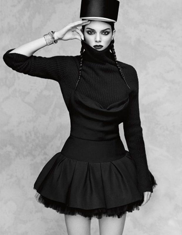Богатой будешь: Кендалл Дженнер не узнать в новой съемке для японского Vogue