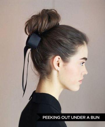 11 способов носить ленту в волосах