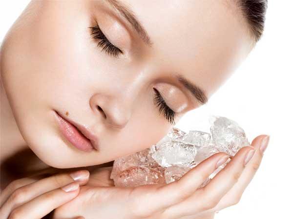 кубики льда для красоті