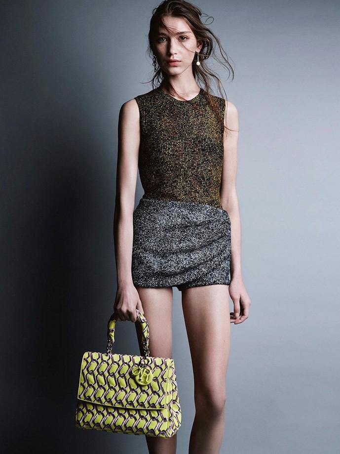 Юность навсегда: 16-летняя и 19-летняя модели снялись для Dior Magazine