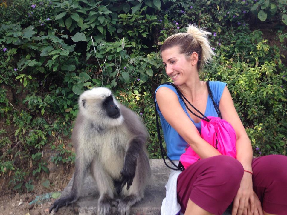 Анита Луценко поделилась секретами индийских йогов