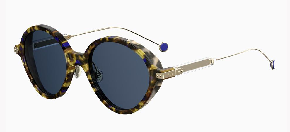 Dior представили роскошные футуристичные очки с узорами листьев на стеклах (ФОТО)