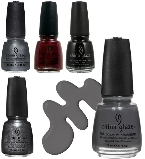 Для поклонниц 50 оттенков серого: коллекция лаков для ногтей