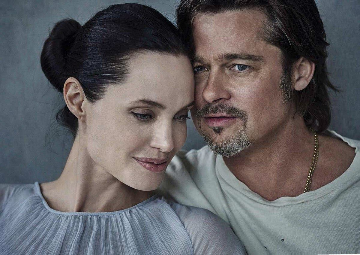 Тепло сердец: фотосессия Анджелины Джоли и Брэда Питта, после которой хочется влюбиться