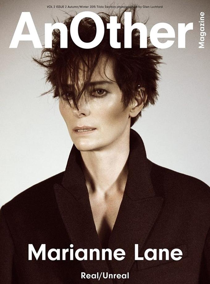 Я - не я: Тильда Суинтон совершенно не похожа на себя в съемке для AnOther magazine
