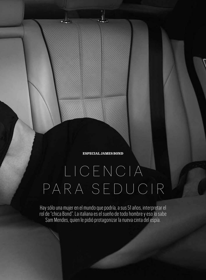 Трепетная чувственность: восхитительная Моника Белуччи в октябрьском Esquire Magazine Mexico