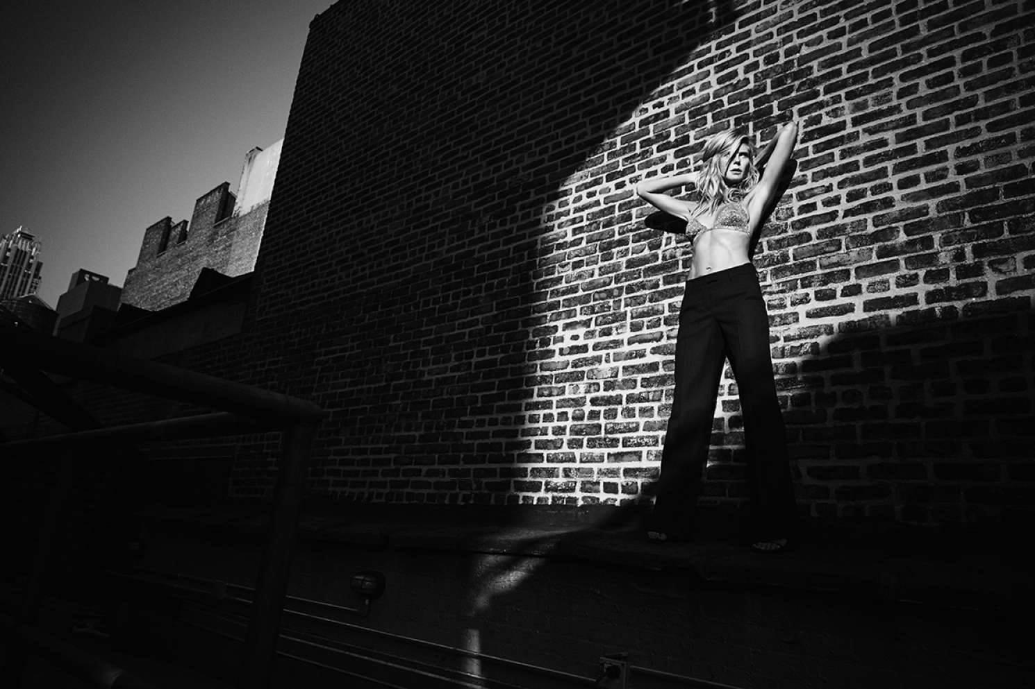 Ты такая разная: необычная фотосессия Хайди Клум в Galore Magazine