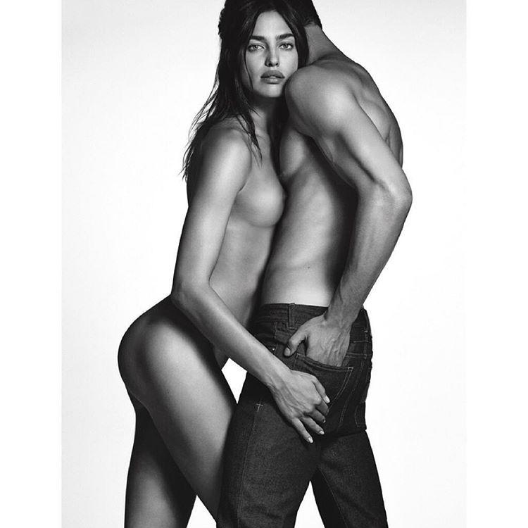 Полная обнаженка: Ирина Шейк в рекламной кампании Givenchy