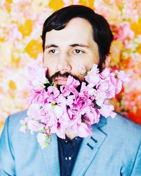 Кругом весна: цветочные бороды стали хитом Instagram! фото