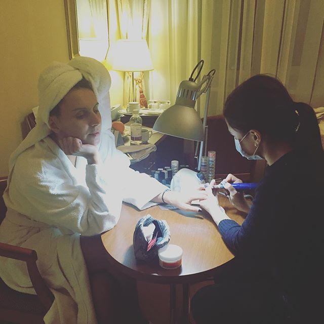 Поиск туфлей, маникюр и массаж: как Джамала готовилась в финалу отбора на Евровидение 2016