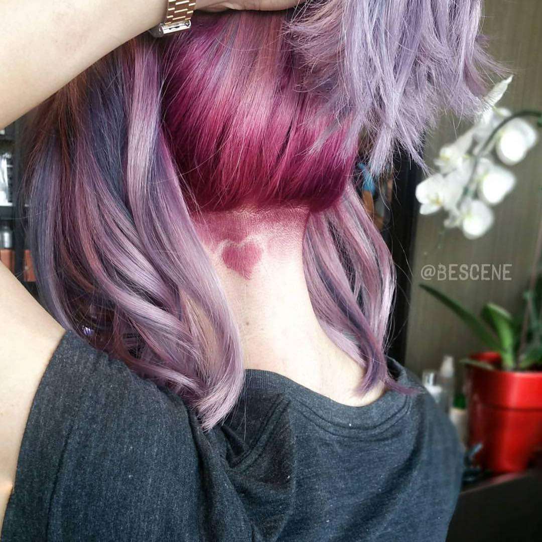 Hair tattoo - новый способ разнообразить свою прическу фото