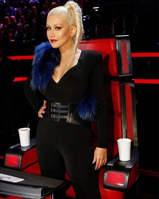 Голос моды: Кристина Агилера делится своими лучшими образами с шоу The Voice