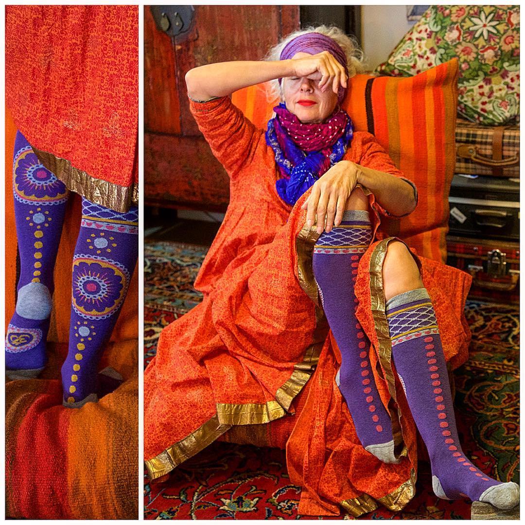 60-летняя Сара-Джейн Адамс - новая икона стиля Instagram фото