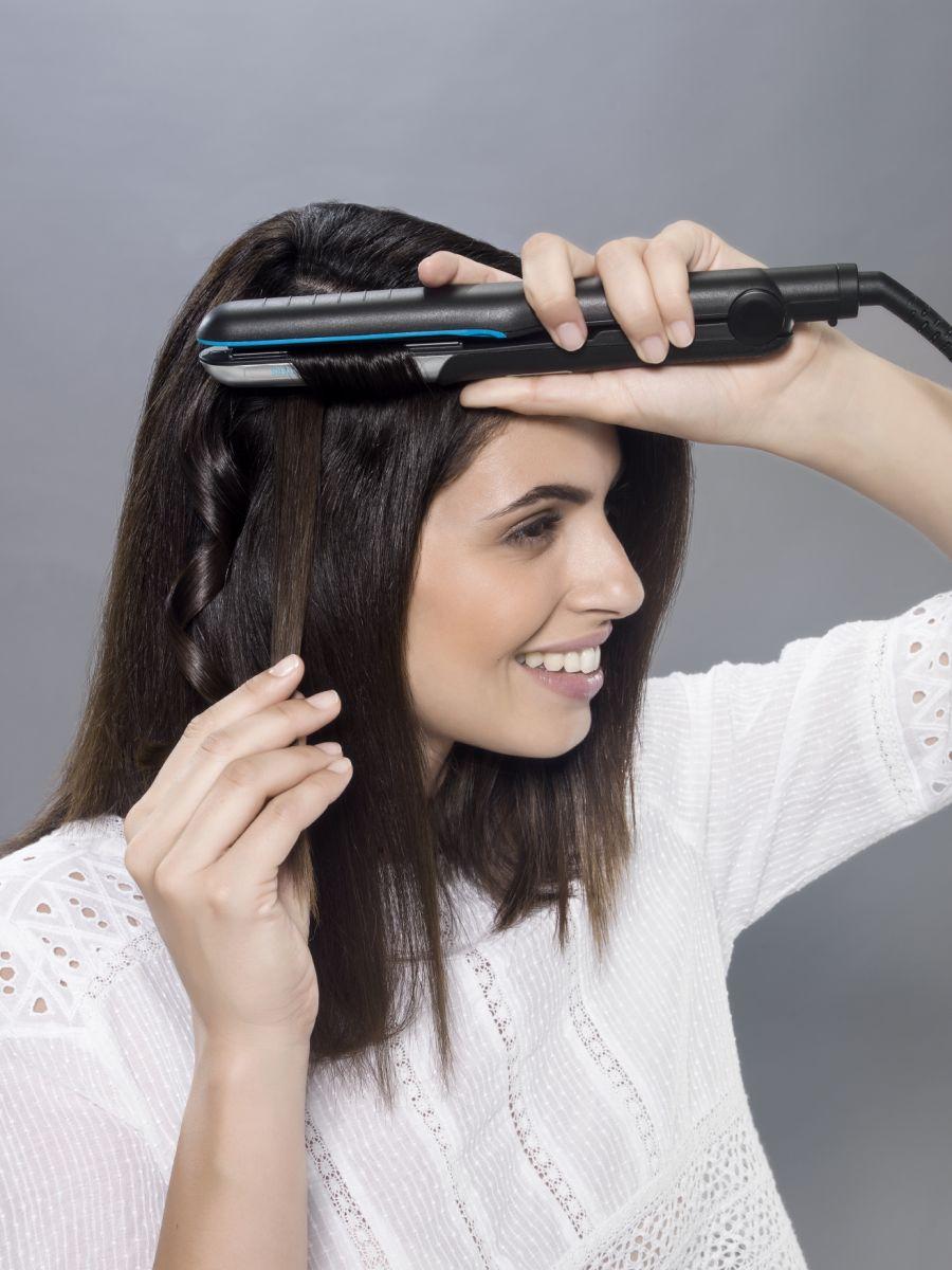Домашний парикмахер: новый стайлер от Rowenta, придающий волосам невероятный блеск
