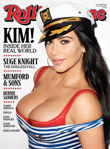 Фотофакт: беременная Ким Кардашьян снова похвасталась своими достоинствами